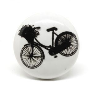Bouton de meuble vintage bicyclette