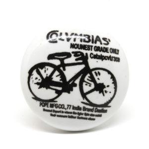 Bouton de meuble vintage vélo
