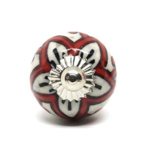 Petit bouton de meuble en céramique